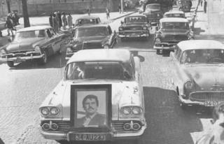 Zonguldaklı sinemacının cenaze töreninden