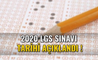 LGS, 7 Haziran 2020'de yapılacak