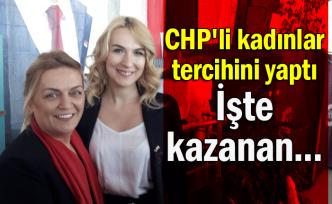 CHP'li kadınlar tercihini yaptı: İşte kazanan...
