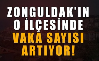 Zonguldak'ın o ilçesinde vaka sayısı artıyor!
