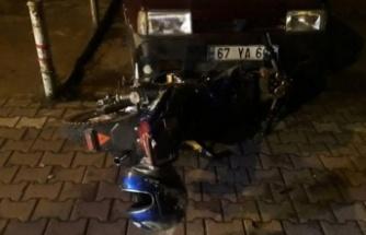 Alkollü sürücü ölümden döndü