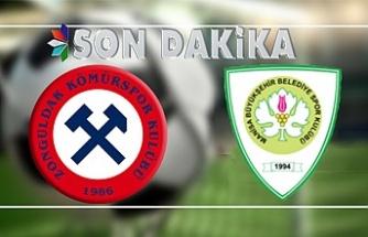 Zonguldakspor direkleri geçemedi... İşte Manisa BBSK maçının özeti
