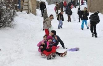 Ereğli'de okullar tatil...