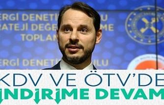 """""""KDV ve ÖTV'de indirime devam"""""""