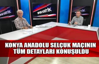 Konya Anadolu Selçukspor maçının tüm detayları canlı yayında konuşuldu...