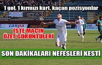 Zonguldak - Konya A. Selçuk maçı özet görüntüleri