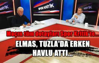 Elmas, Tuzla'da erken havlu attı... Maçın tüm detayları Spor Kritik'te...