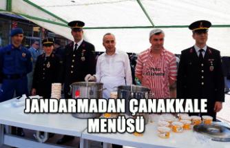 Jandarmadan Çanakkale Menüsü...