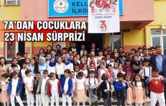 7A'dan çocuklara 23 Nisan sürprizi