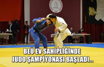 BEÜ ev sahipliğinde Judo Şampiyonası başladı...