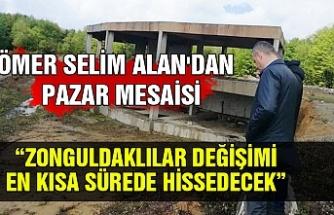Ömer Selim Alan'dan Pazar mesaisi