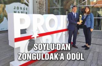 Süleyman Soylu'dan Zonguldak'a ödül