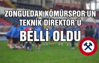 Zonguldak Kömürspor'un Teknik Direktör'ü belli oldu