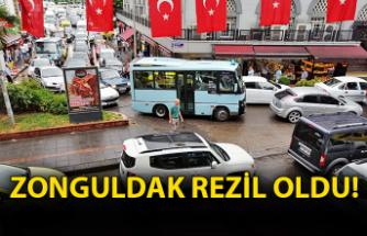 Zonguldak rezil oldu!