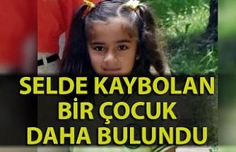 Akçakoca'daki selde kaybolan bir çocuk daha bulundu