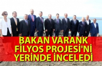 Bakan Varank Filyos Projesi'ni yerinde inceledi