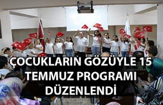 Çocukların gözüyle 15 Temmuz programı düzenlendi