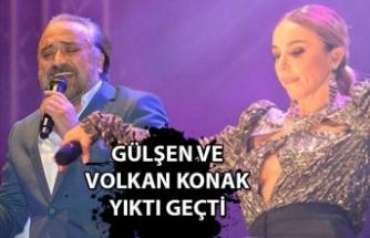 Gülşen ve Volkan Konak yıktı geçti