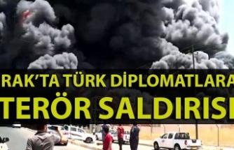 Irak'ta Türk diplomatlara terör saldırısı: 1 Türk diplomat hayatını kaybetti.