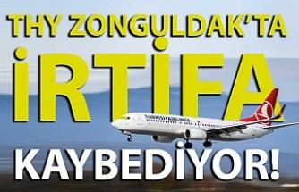 THY'nin Zonguldak'ta yolcu sayısı eriyor