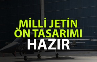 Türkiye'nin Milli jetinin ön tasarımı tamam!