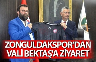 Zonguldakspor'dan Vali Bektaş'a ziyaret