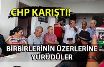 CHP'nin basın toplantısı gergin geçti