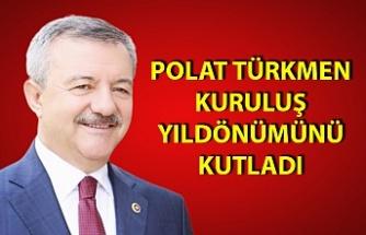 Polat Türkmen'den 18. Yıl kutlaması