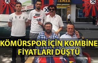 Zonguldak Kömürspor için kombine fiyatları düştü