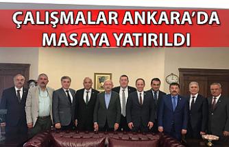 Çalışmalar Ankara'da masaya yatırıldı