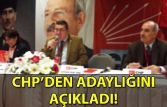 CHP'de Nuri Genç adaylığını açıklıyor