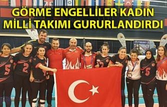 Görme Engelliler Kadın Golbol Milli Takımı Avrupa şampiyonu