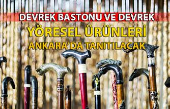 Devrek Bastonu ve Devrek yöresel ürünleri Ankara'da tanıtılacak