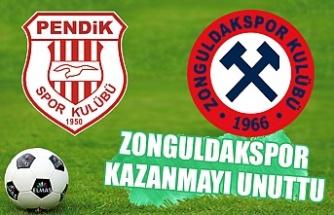 Zonguldakspor kazanmayı unuttu...