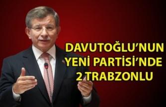 Davutoğlu'nun kurduğu partide zonguldak'tan kimler var