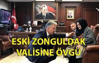 ESKİ ZONGULDAK VALİSİNE CHP'Lİ VEKİLDEN ÖVGÜ