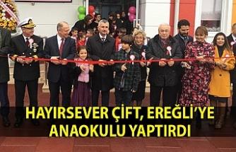 Orhan ve Nurdan Oğuz Anaokulu'nun açılışı yapıldı