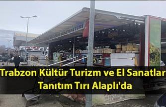 Trabzon Kültür Turizm ve El Sanatları Tanıtım Tırı Alaplı'da