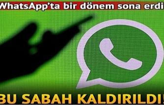 WhatsApp, bakın neyi kaldırdı?