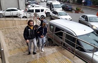 Bonzai ile yakalanmışlardı: Tutuklandı