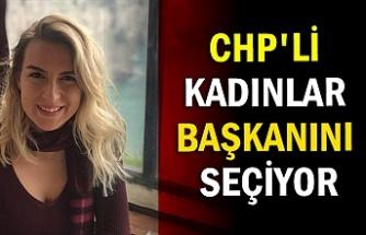 CHP'li kadınlar başkanını seçiyor