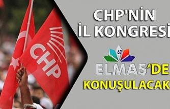CHP'nin İl kongresi Elmas TV'de konuşulacak