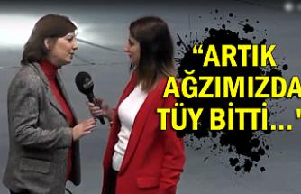 """Ebru Uzun'dan kongre açıklaması """"Artık ağzımızda tüy bitti..."""""""