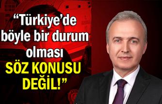 """Milletvekili Uçar'dan corono virüsü açıklaması... """"Türkiye'de böyle bir durum olması söz konusu değil!"""""""