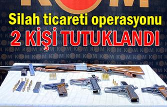 Silah ticareti operasyonu... 2 kişi tutuklandı