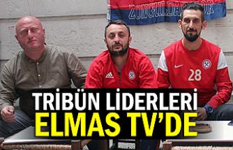 Tribün liderleri Elmas TV'de