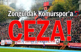 Zonguldak Kömürspor'a ceza!