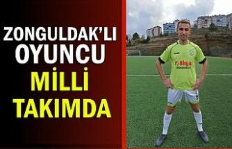 Zonguldak'lı oyuncu milli takımda