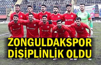 Zonguldakspor disiplinlik oldu