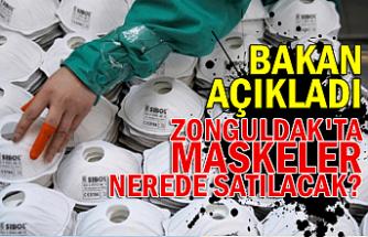 Bakan açıkladı... Zonguldak'ta maskeler nerede satılacak?